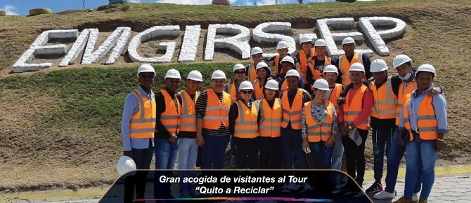 """Gran acogida de visitantes al Tour """"Quito a Reciclar"""""""