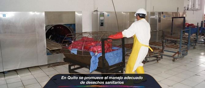 En Quito se promueve el manejo adecuado de desechos sanitarios