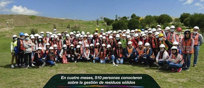 En cuatro meses, 510 personas conocieron sobre la gestión de residuos sólidos